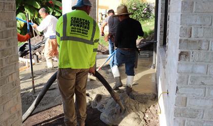 Coastal Concrete Pumping
